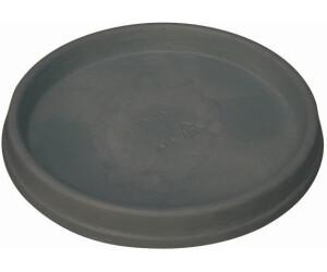 26 cm Floralo Untersetzer Terni frostsicher schwarz // granit rund