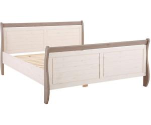 Metallbett 140x200 silber  Bett romantisch Preisvergleich | Günstig bei idealo kaufen