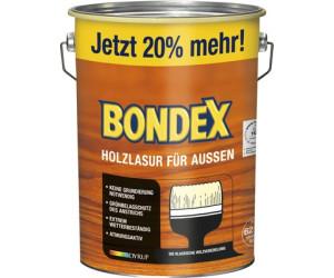 Bondex Holzlasur Fur Aussen 4 8 L Eiche Hell Ab 34 50