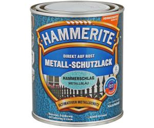 hammerite metall schutzlack hammerschlag 750 ml metallblau. Black Bedroom Furniture Sets. Home Design Ideas