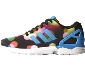 fb20a0b2212f Buy Adidas ZX Flux black bright blue white from £57.80 – Best Deals ...