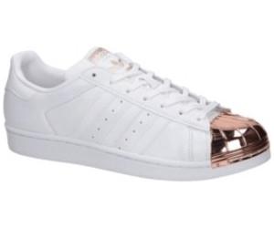 Blau weiße 'Super Star' Sneakers aus Leder und Wildleder von