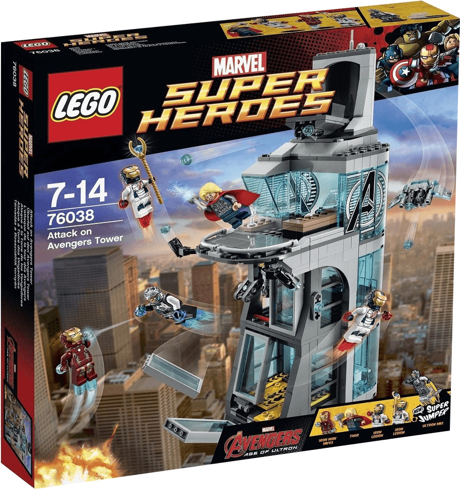 LEGO Marvel Super Heroes - L'attaque de la tour des Avengers (76038)