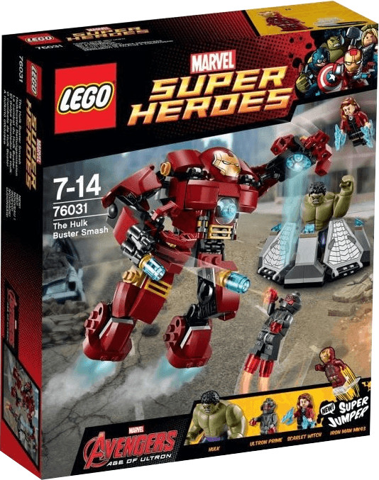 LEGO Marvel Super Heroes - Le combat du Hulk Buster (76031)