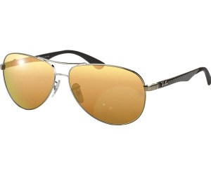 ray ban pilotenbrille schwarz