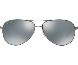 e0d123614fc7ea Ray-Ban Carbon Fibre RB8313 RB8313 004 K6 (silver grey silver mirror  polarized)