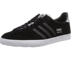 adidas gazelle black and silver