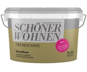 Schöner Wohnen Trendfarbe matt 2,5 l Bamboo ab 19,78 ...