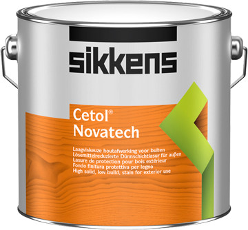 Sikkens Cetol Novatech 2,5 l Eiche hell