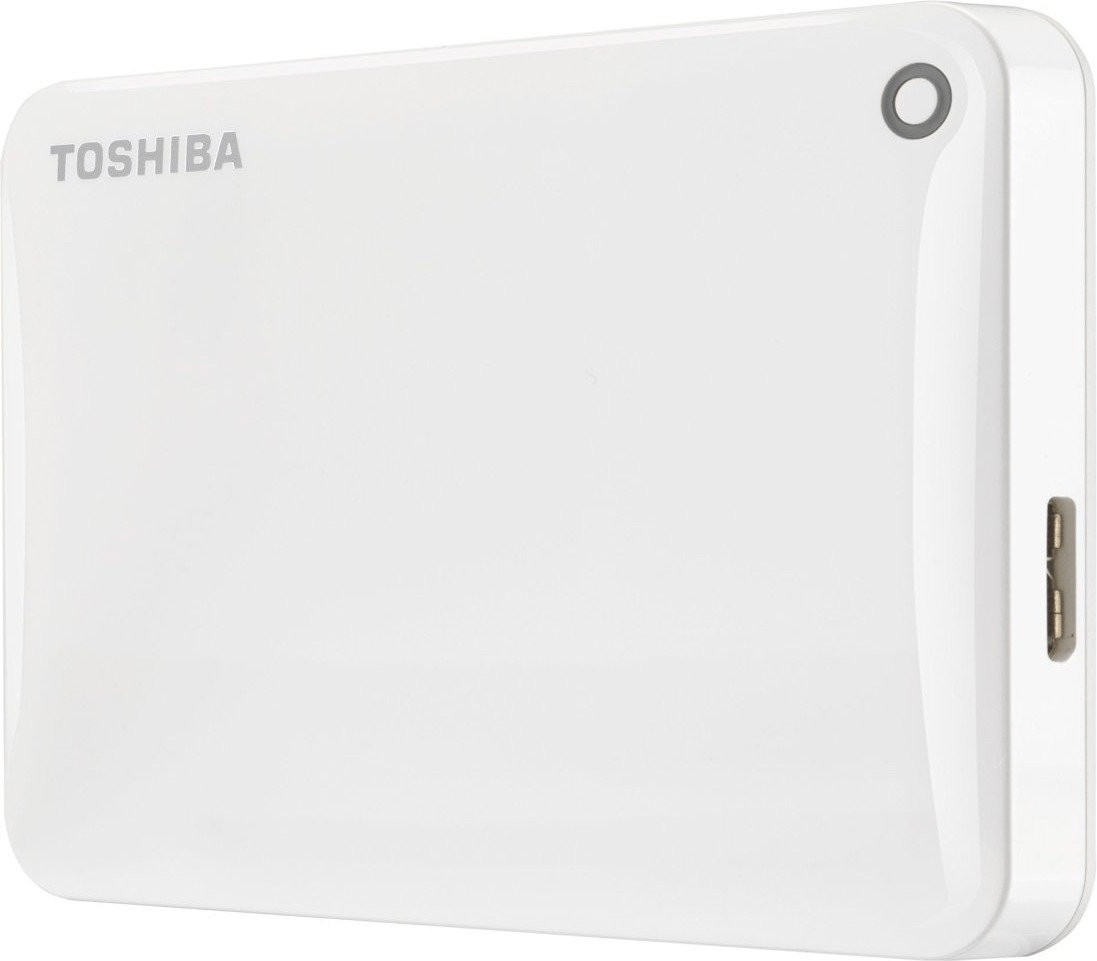 Toshiba Canvio Connect II 2 TB blanco