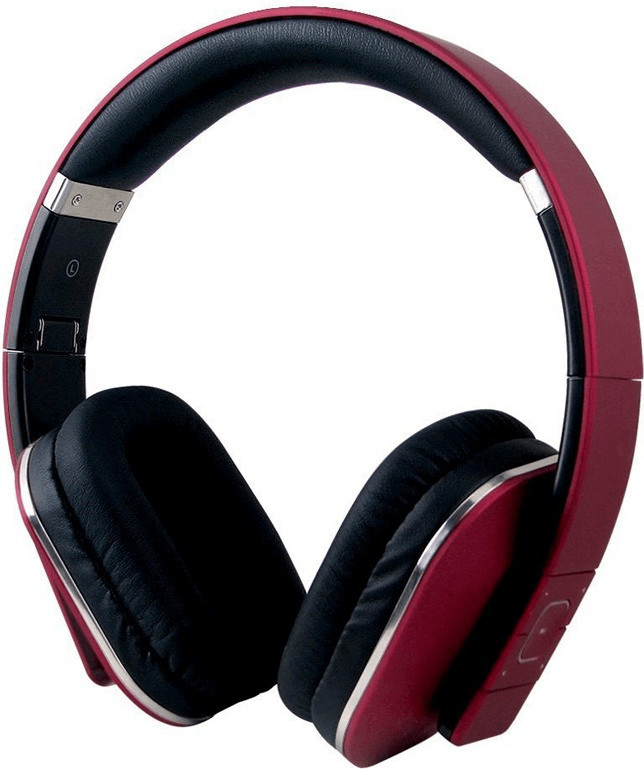 Image of August EP650 Bluetooth Headphones (Red)