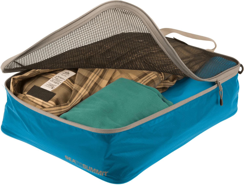 Sea to Summit Garment Mesh Bag M blue/grey