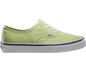 vans verde pastello