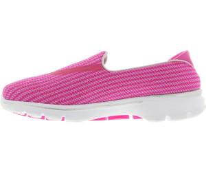 skechers go walk 3 noir pink