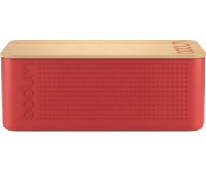 Bodum Bistro Brotkasten (36 cm) Rot