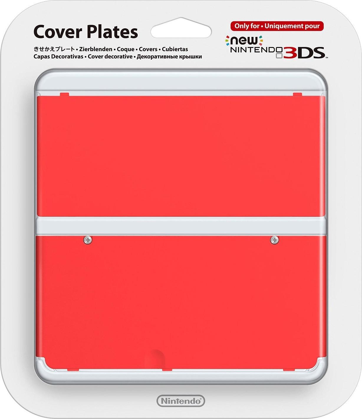 Nintendo New 3DS Zierblenden rot