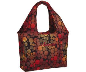 Chiemsee Beachbag dots black (5060028)