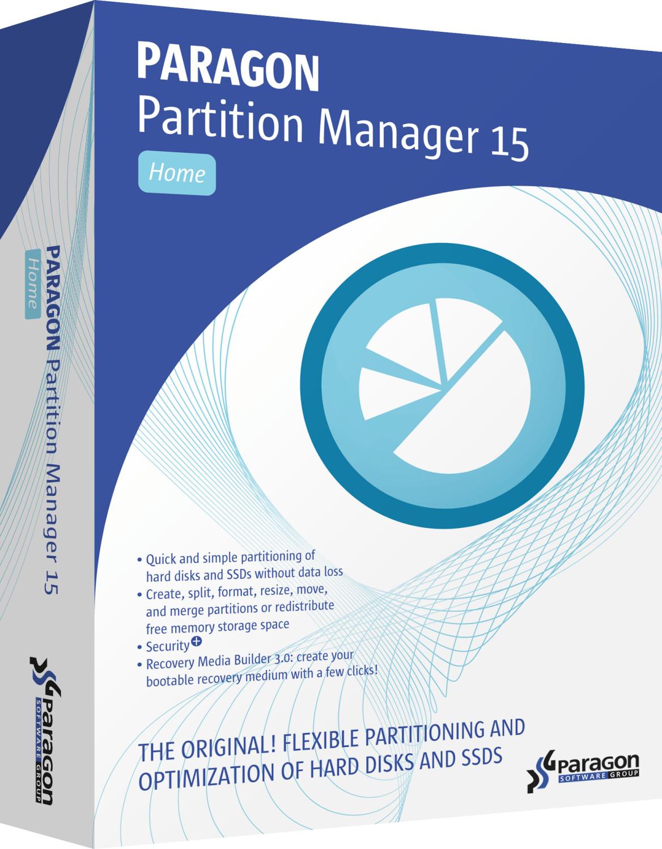 Paragon Partition Manager 15 Home (DE)