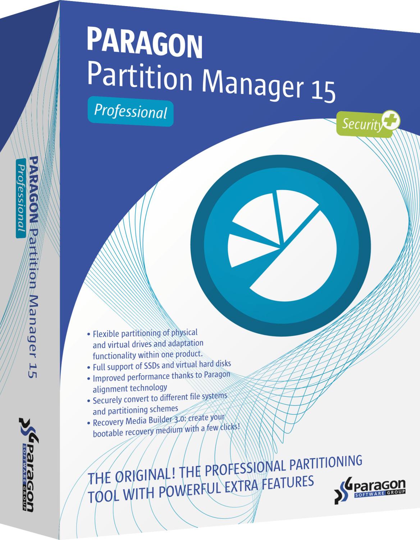 Paragon Partition Manager 15 Pro (DE)