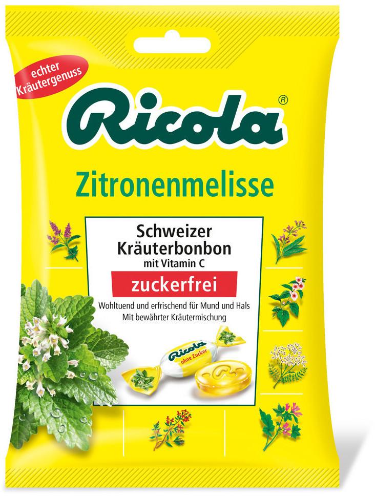 Ricola Zitronenmelisse ohne Zucker (75 g)
