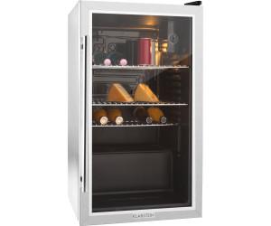 Kühlschrank Minibar Getränkekühlschrank Silber A Edelstahl Glastür 80l : Klarstein beersafe xxl ab 260 99 u20ac preisvergleich bei idealo.de