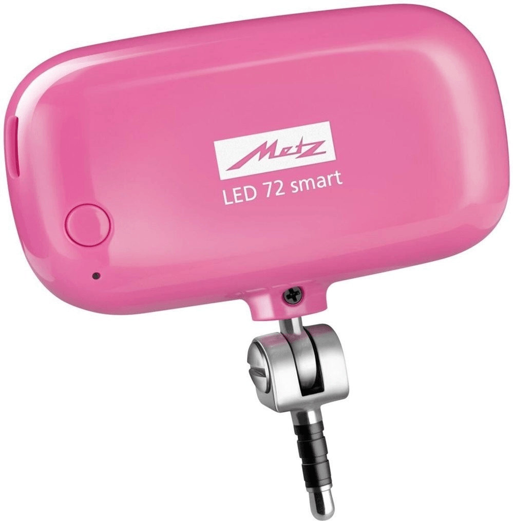 Image of Metz LED-72 smart Pink