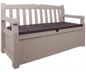 keter eden gartenbank mit truhe 2 sitzer beige 17190198 ab 109 00 preisvergleich bei. Black Bedroom Furniture Sets. Home Design Ideas