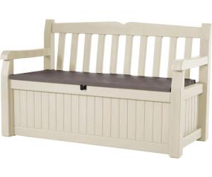 keter eden gartenbank mit truhe 2 sitzer kunststoff ab 104 90 preisvergleich bei. Black Bedroom Furniture Sets. Home Design Ideas
