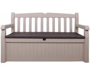 keter eden gartenbank mit truhe 2 sitzer beige 17190198 ab 99 95 preisvergleich bei. Black Bedroom Furniture Sets. Home Design Ideas