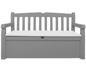 keter eden gartenbank mit truhe 2 sitzer kunststoff ab. Black Bedroom Furniture Sets. Home Design Ideas
