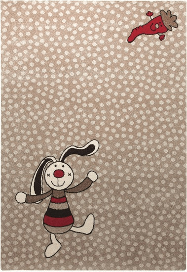Sigikid Rainbow Rabbit 80 x 150 cm beige