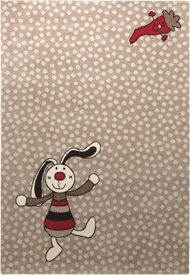 Sigikid Rainbow Rabbit 160x225cm beige