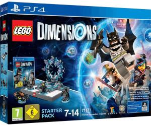 lego dimensions pack de d marrage ps4 au meilleur prix. Black Bedroom Furniture Sets. Home Design Ideas