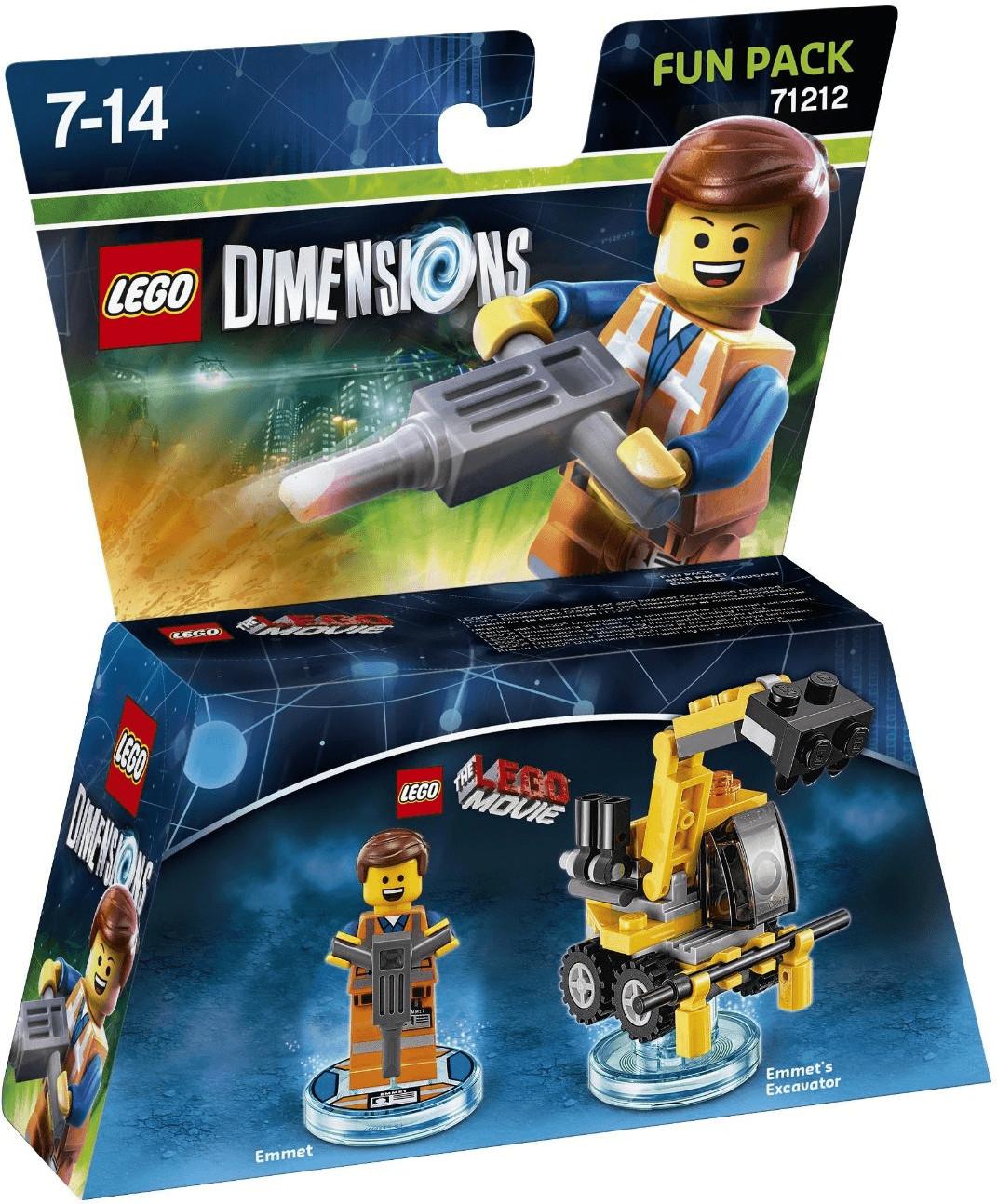 LEGO Dimensions: pack héros - Emmet