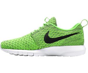 94ebcd7869e5 Nike Roshe One Flyknit volt electric green dark grey black ab 121