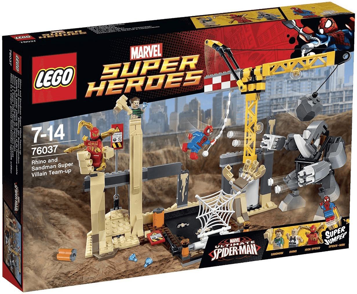 Image of LEGO Marvel Super Heroes 76037 - L'Alleanza Criminale di Rhino e L'Uomo S