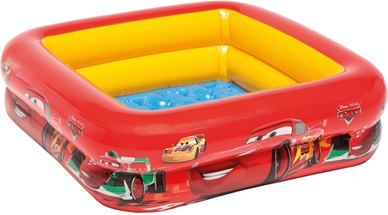 Intex Cars - Play Box Pool 85 x 85 x 23 cm