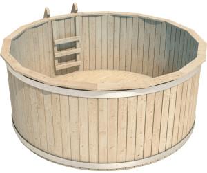 Isidor holzbau holzpool casper 240 x 107 cm ab 910 83 for Aufstellpool holz