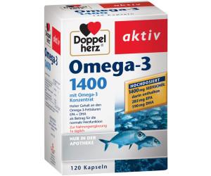 Doppelherz Omega 3 1400 Kapseln 120 Stk Ab 1089