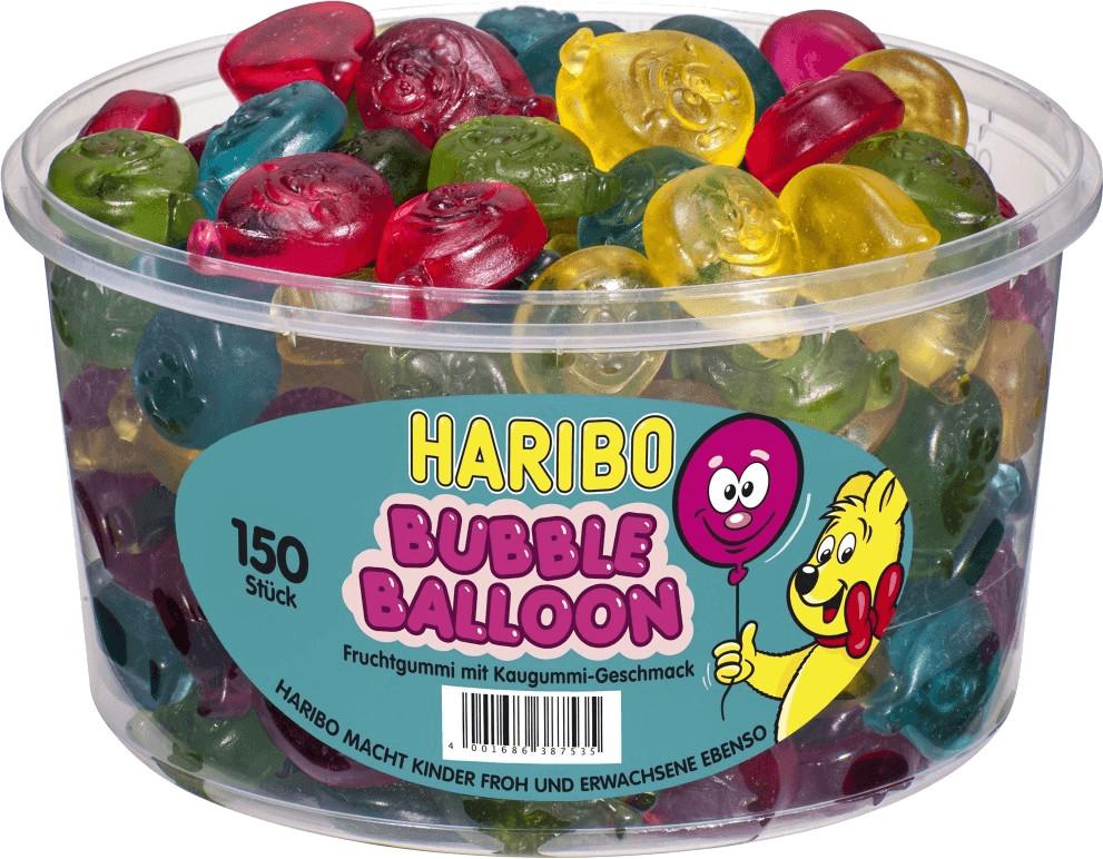 Haribo Bubble Balloon 150 Stück
