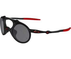 Oakley Madman Sonnenbrille Ferrari Dark Carbon/Black Iridium Polarized S48me