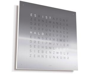 Qlocktwo Classic Edelstahl Geburstet Ab 1 350 00 Preisvergleich