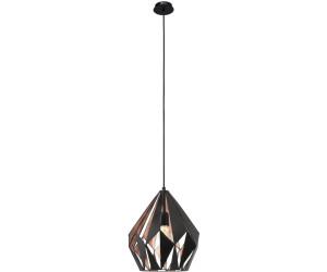 eglo vintage schwarz kupfer 49254 ab 57 05 preisvergleich bei. Black Bedroom Furniture Sets. Home Design Ideas