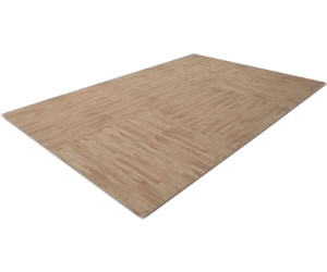 Finnlo Bodenschutzmatte Holzoptik (Puzzlematte) beige
