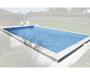 Planet pool styropor pool set standard 700 x 350 x 150 cm for Styropor pool hornbach