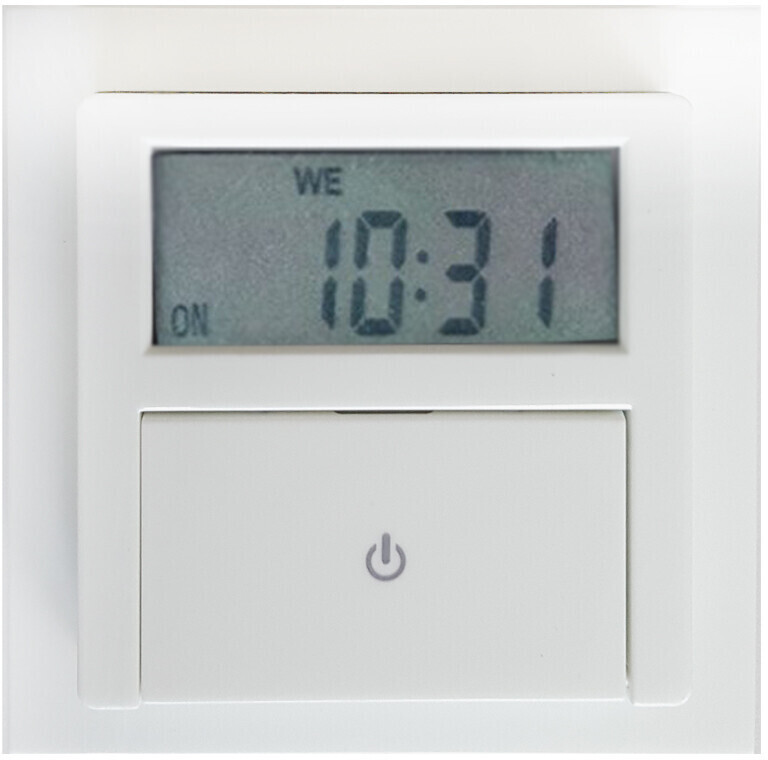GAO Unterputz-Zeitschaltuhr weiß