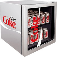 Image of Husky Diet Coke Mini Fridge