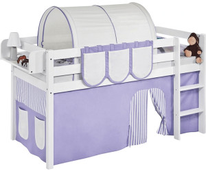 Etagenbett Hochbett Spielbett Kinderbett Jelle 90x200cm Vorhang : Lilokids jelle mit vorhang ab 137 99 u20ac preisvergleich bei idealo.de