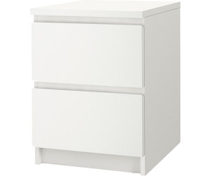 ikea malm 55 cm wei ab 39 99 preisvergleich bei. Black Bedroom Furniture Sets. Home Design Ideas