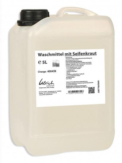 Ulrich Waschmittel mit Seifenkraut (5 L)